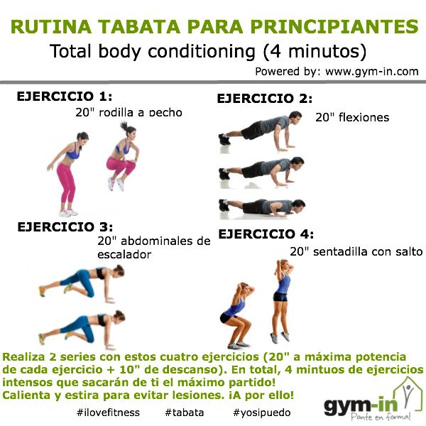 Circuito Hiit En Casa : Rutina tabata para bajar de peso en menos tiempo gym in
